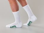 White Swan 5874 AMPS Mens Crew Performance Sock