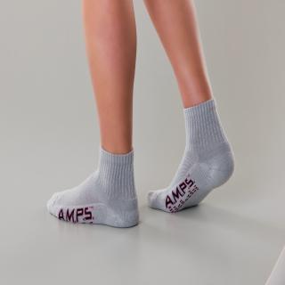 White Swan 5903 AMPS Ladies Quarter Crew Performance Sock