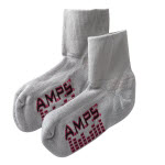 White Swan 5912 AMPS Ladies Quarter Crew Lite Performance Sock