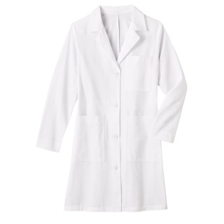 "White Swan 651 Meta Mens 38"" Cotton Long Labcoat"