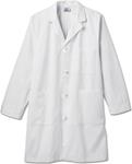 "White Swan 762 Meta Mens 40"" Cotton Knot Button iPad Labcoat"