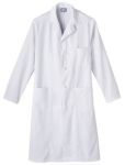 "White Swan 798 Meta Men's 45"" Knot Button Labcoat"