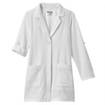 "White Swan 858 Meta Pro Ladies 33"" Roll-Up Sleeve Stretch Labcoat"