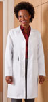 "White Swan 863 Meta 37"" Ladies X-Static Labcoat"