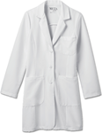 "White Swan 885 Meta Pro 35"" Ladies Tri-Blend Stretch Labcoat"