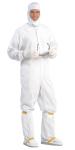 Superior Uniform Group 1076 Uni LD-100 White Contour Hood-Snap Close