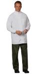 Superior Uniform Group 108 Mens White 65/35 FLT Clinic Coat