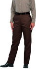 Superior Uniform Group 20500 Ladies Chocolate Select Flat Front Slack