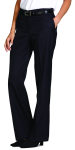 Superior Uniform Group 20501 Ladies Dark Navy Select Flat Front Slack
