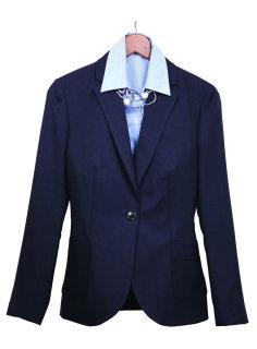 Superior Uniform Group 20613 Ladies Dark Navy Select 1-Btn Jacket