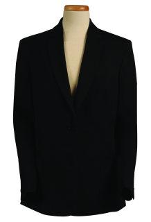 Superior Uniform Group 20615 Ladies Black Select 1-Btn Jacket