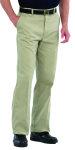 Superior Uniform Group 21112 Mens Lt Tan D/C S/Twl Trousers/QT Pocket