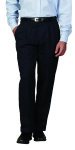 Superior Uniform Group 21603 Mens Dark Navy Select Double Pltd Pant