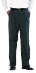 Superior Uniform Group 21704 Male Oxford Gray D/W Pltd Trouser