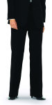 Superior Uniform Group 21707 Female Black D/W Pltd Pant
