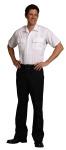 Superior Uniform Group 22150 Mens Wht P/C SS Public Sfty Shirt
