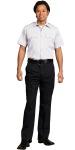 Superior Uniform Group 22509 Unisex White 100P SS Economy Shirt