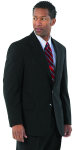 Superior Uniform Group 24027 Male Oxford Gray D/W S/B Coat
