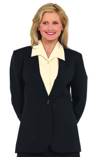 Superior Uniform Group 24028 Female Oxford Gray D/W Cardigan Jacket