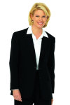 Superior Uniform Group 24030 Female Black D/W S/B Coat