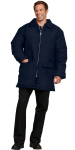 Superior Uniform Group 24031 Unisex Navy Nylon Parka