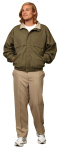 Superior Uniform Group 24745 Unisex Olive/Khaki Mesh Lined Jacket
