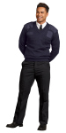 Superior Uniform Group 24858 Uni Navy Piltrol V-Nk Cmndo Knit Sweater