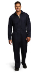 Superior Uniform Group 25318 Unisex Midnite Navy P/C Twl LS Jumpsuit