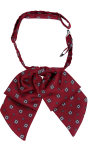 Superior Uniform Group 26555 Female Wine Foulard Showbow Tie