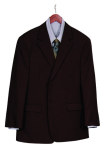 Superior Uniform Group 28211 Mens Chocolate Select 2-Btn Coat
