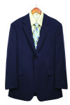 Superior Uniform Group 28212 Mens Dark Navy Select 2-Btn Coat