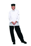 Superior Uniform Group 3008 Unisex Wht P/C Classic Chef Coat/8 KB