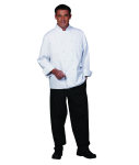 Superior Uniform Group 3023 Unisex White 100C Classic Euro Chef Coat