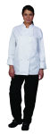 Superior Uniform Group 3028 Unisex White 100% Organic LS Chef Coat