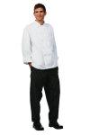 Superior Uniform Group 3031 Uni Wht Spun Poly POP LS Prof Coat/Plstc