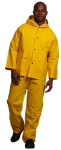 Superior Uniform Group 32420 Unisex Yellow PVC Rain Bib Overall
