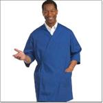 Superior Uniform Group 3255 Unisex Royal Blue Reversible Gown