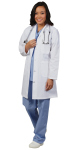 Superior Uniform Group 3416 Ladies White 80/20 Lab Coat