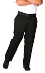 Superior Uniform Group 3835 Mens Black Twill Work Pants