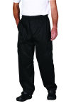 Superior Uniform Group 3856 Unisex Black Cool Edge Chef Pant