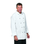 Superior Uniform Group 40002 Unisex White (R) Master Chef Coat