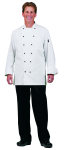 Superior Uniform Group 40005 UV1778 Uni White 100C (R) Exec Chef Coat