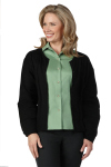 Superior Uniform Group 40049 Ladies Black Cardigan Sweater