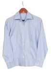 Superior Uniform Group 40050 Mens Blue Dobby LS Shirt