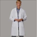 Superior Uniform Group 400 Ladies White 80/20 Lab Coat TR
