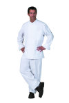 Superior Uniform Group 40102 Unisex White (R) Chef Coat/10KB