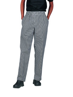 Superior Uniform Group 42002 UV 1841 Uni Blk/Wht Check Valu Pants