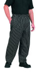 Superior Uniform Group 42006 UV 1844 Uni  Blk Stripe Exec Chef Pants