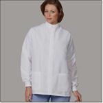 Superior Uniform Group 466 Unisex White T Shield Lab Coat Snaps TG