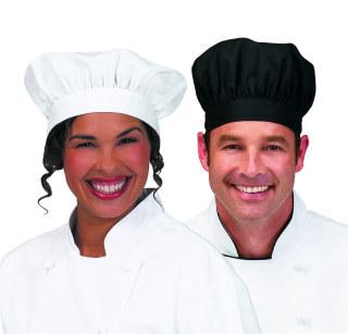 ed8ada5bb92 Superior Uniform Group 47001 Unisex Black Small Floppy Chef Hat. Loading  zoom